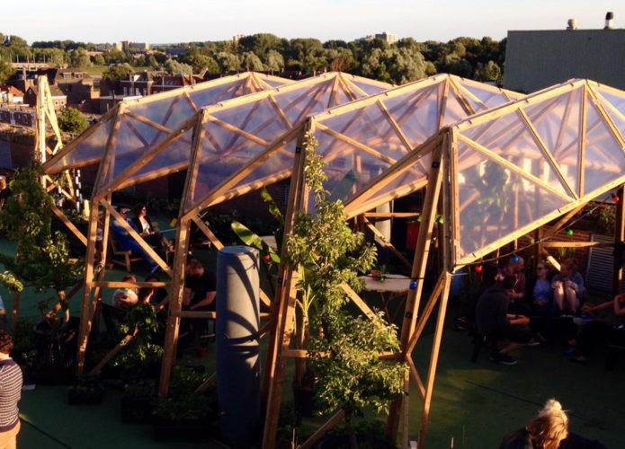 Overkapping Roofgarden
